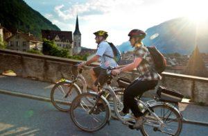 Elektro Fahrrad Ausflug
