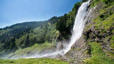 Wandern am Partschinser Wasserfall