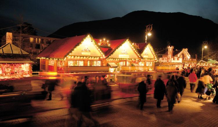 In Meran ist die Südtiroler Weihnacht besonders schön.
