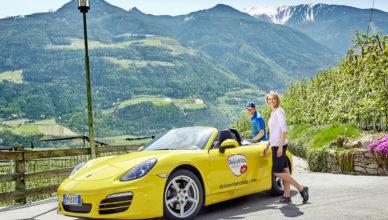 Cabriotouren in Südtirol vom Hotel Feldhof aus