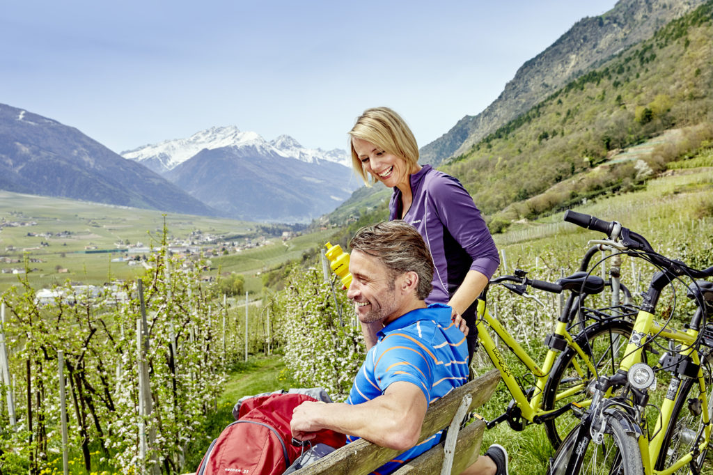 Radtouren im Bike Urlaub im Vinschgau