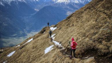 Trekking in Südtirol begeistern jeden Wanderliebhaber