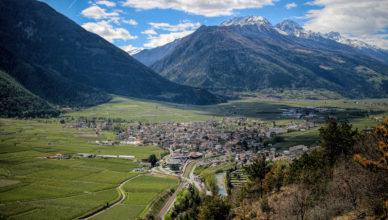 Herrliche Blick in Ihrem Urlaub im Vinschgau