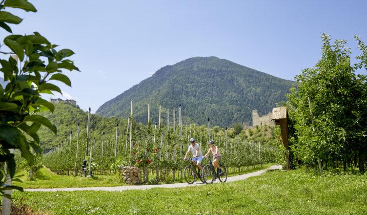 Radurlaub in Südtirol